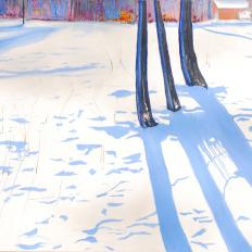 Winter 3 Trees